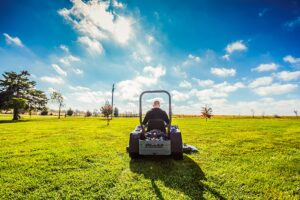 best riding lawn mowers for steep hills